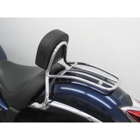 YAMAHA XVS 950 A MIDNIGHT STAR SISSY BAR CONDUCTEUR AVANT + PORTE PAQUET NEUF XVS 950 A MIDNIGHT STAR YAMAHA REF 7605 FRG