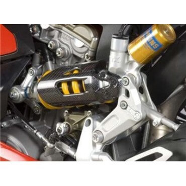 PROTECTION D' AMORTISSEUR R&G RACING CARBONE DUCATI 959-1199-1299 PANIGALE / S - 2012/17 REF-445356