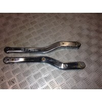 HONDA 125 REBEL ARCEAUX CACHES DE SELLE ARRIERE TYPES JC24/JC26 - 1995/2000