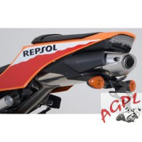 HONDA 500 CB R / S / X-13/14-SUPPORT DE PLAQUE R&G Racing NEUF-442334