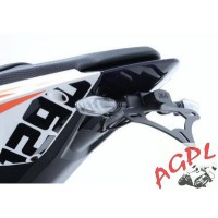 KTM RC8 1190 R-08/14- SUPPORT DE PLAQUE R&G Racing NEUF-443916