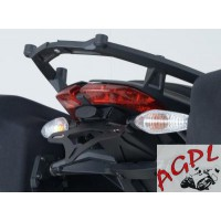 DUCATI 1199 PANIGALE-12/14- SUPPORT DE PLAQUE R&G Racing NEUF-443956