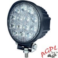 PHARE ADDITIONNEL QUAD-LED 24 W-NOIR-2001-0706