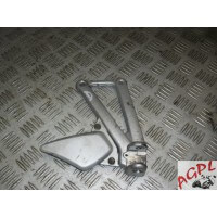 DUCATI 944 ST2 PLATINE REPOSE PIED AVANT DROITE TYPE ZDMS100AA - 1997/2003