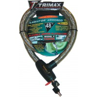 ANTIVOL GLADIATOR SERIES ARMORED CABLE 122 cm-TRIMAX-4010-0010