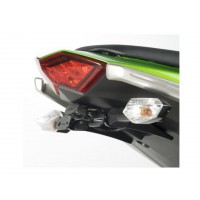 KAWASAKI Z1000-14/16-SUPPORT DE PLAQUE R&G Racing-4450089