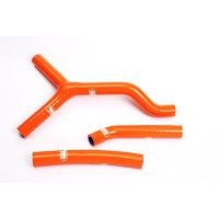 KTM SX85-13/16-KIT DURITES DE RADIATEUR SAMCO-ORANGE-44051141