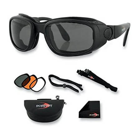 1a1bd91f891770 LUNETTES BOBSTER MOTO-SCOOTER-SPORT AND STREET CONVERTIBLE-BSSA001AC