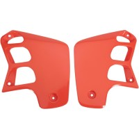 HONDA CR 125-88/90-CR 250-88/90-OUIES DE RADIATEUR ORANGE-78132951