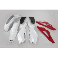 HUSQVARNA CR 125 CR 250-07/08- KIT PLASTIQUES CARENAGES -78640700