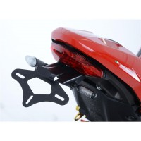 DUCATI 1200 MONSTER S-2017- SUPPORT DE PLAQUE R&G-444999