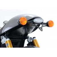 TRIUMPH 1200 T120 BONNEVILLE-16/17-SUPPORT DE PLAQUE R&G Racing-443732
