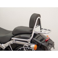 HARLEY DAVIDSON FXSB 1690 BREAKOUT -13/17-SISSY BAR PASSAGER + PORTE PAQUET CHROME-6196RG