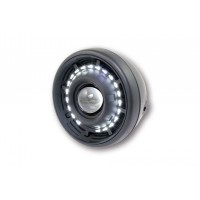 OPTIQUE DE PHARE ROND AVANT LED CYCLOPE Ø190mm-12005