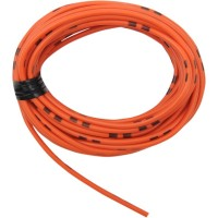 1 ROULEAU CABLE ELECTRIQUE 4 m- ORANGE-2120-0278