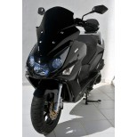 DAELIM 125 S3 / S 300 -BULLE SPORT ERMAX NOIRE-0340006