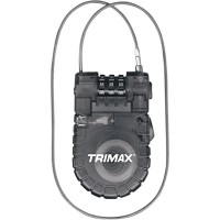 ANTIVOL	TRIMAX CABLE-LOCK RESETTABLE COMBINATION -1.83m x 20 mm-4010-0016