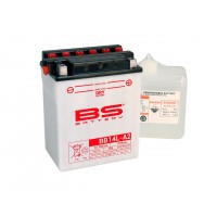 COMPATIBLE 750 INDIANA PASO 900 SS PANTAH / PEGASO / 500 SCARABEO-ATLANTIC - BATTERIE BS BB14L-A2-321847