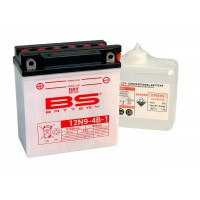 COMPATIBLE 500 H1 / NX 125 TRANSCITY-125 CB T- BATTERIE BS 12N9-4B1-321854