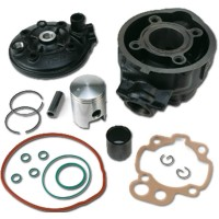 YAMAHA 50 TZR-DTR DT-APRILIA 50 MX / RX / RS -PEUGEOT XP6 /XR6 /XR7 /XPS -KIT HAUT MOTEUR FONTE TOP PERFORMANCE-TP9916770