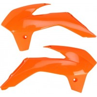 KTM EXC SX 125-200-250-300-380-400-450-525-505 11/12 OUIES DE RADIATEURS UFO ORANGE-78536453