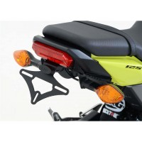 HONDA 125 MSX-16/17-SUPPORT DE PLAQUE R&G Racing-443759