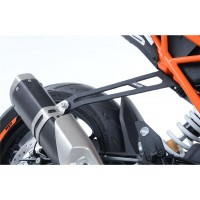 KTM 125 DUKE R-17/18-SUPPORT ECHAPPEMENT R&G RACING- 445542