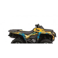 CAN AM OUTLANDER MAX G1- 05/11-KIT DÉCO KUTVEK ROTOR JAUNE-78104101