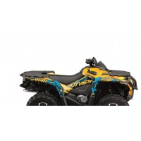 CAN AM OUTLANDER MAX G2- 12/17-KIT DÉCO KUTVEK ROTOR JAUNE-78104103