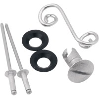 KIT 6 FIXATIONS OVALE CARENAGE - 0521-0367