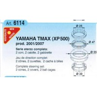 YAMAHA XP 500 T-MAX-01/07-ROULEMENTS COLONNE DE DIRECTION-411680