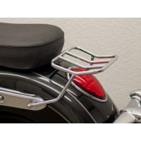TRIUMPH 1700 COMMANDER - THUNDERBIRD LT -14/18- SUPPORT PORTE BAGAGE PAQUET CHROME -7173RR
