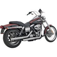 HARLEY DAVIDSON FXD-95/16-SILENCIEUX ECHAPPEMENT VANCE HINES STRAIGHTSHOTS CHROME-1801-0111