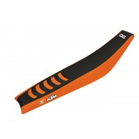 KTM EXC-EXC-F-98/07-SX-SX-F-98/06-HOUSSE DE SELLE NOIR ORANGE-78175351