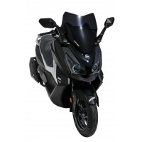 SYM CRUISYM 125i / 300i -18/19 - BULLE HYPERSPORT ERMAX NOIRE CLAIRE - HY88014