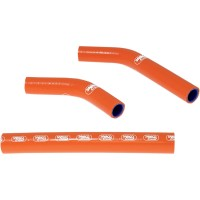 KTM SX 250-07/10-KIT DURITES DE RADIATEUR SAMCO-ORANGE-44064133