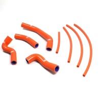 KTM RC390-14/18  -KIT DURITES DE RADIATEUR SAMCO-ORANGE-44005733