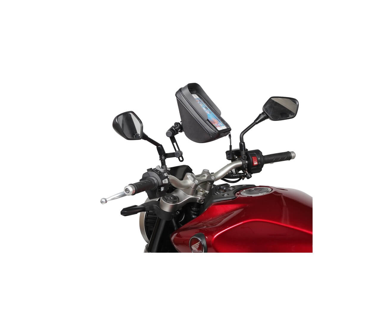 Embouts de Guidon Puig Honda PCX 125 10-18 court or