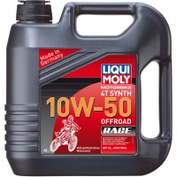 HUILE 4 TEMPS 4 LITRES SYNTHESE 10W50 OFF ROAD RACE LIQUI MOLY-3052