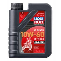 HUILE 4 TEMPS 1 LITRE SYNTHESE 10W60 OFF ROAD RACE LIQUI MOLY-3053
