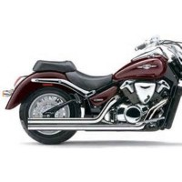 SUZUKI VLR 1800 INTRUDER-09/12-SILENCIEUX LIGNE ECHAPPEMENT LONG CHROME COBRA-1810-1920