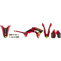 HONDA CR 125 R / CR 250 R - 02/07 - KIT DÉCO BLACKBIRD Rockstar Energy -2136L