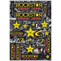 KIT STICKER UNIVERSEL BLACKBIRD ROCKSTAR - 5076L