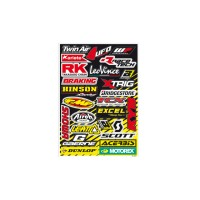 KIT STICKER UNIVERSEL BLACKBIRD SPONSOR - 5076A
