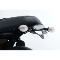 TRIUMPH 900 STREET TWIN - SUPPORT DE PLAQUE R&G- LP0203BK