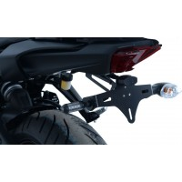 YAMAHA MT07 -14/19 -SUPPORT DE PLAQUE R&G Racing- LP0251BK