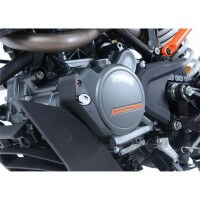 KTM 125 DUKE -17/19 - SLIDER CARTER PROTECTION GAUCHE - ECS0119BK