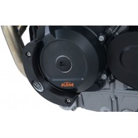 KTM 790 DUKE / L - SLIDER CARTER PROTECTION GAUCHE- ECS0128BK