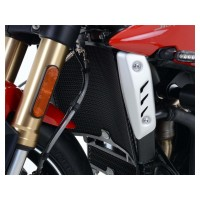 TRIUMPH 765 STREET TRIPLE RS -18/19 - PROTECTION RADIATEUR R&G - RAD0202BK