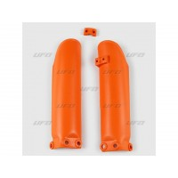 KTM SX 65-09/15-PAIRE PROTECTIONS DE FOURCHE UFO-ORANGE-78536153